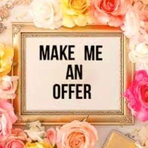 Make me an offer!  ❤️